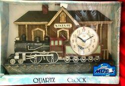 Santa Fe Novelty Rail Road Quartz Wall Clock