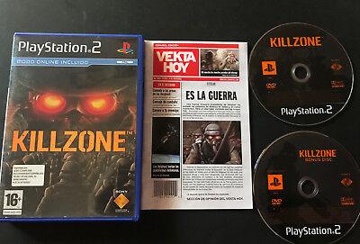 Killzone PS2 Play Station 2 Pal ESPAÑOL segunda mano  Embacar hacia Argentina