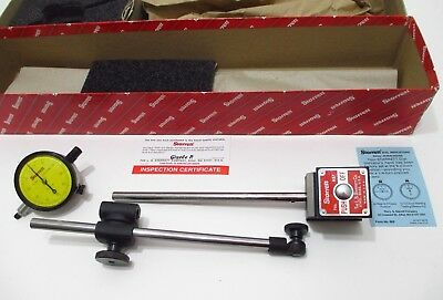 Starrett 657me Mag Base Holder Set Edp 56357 W 25-181 Metric Dial Indicator