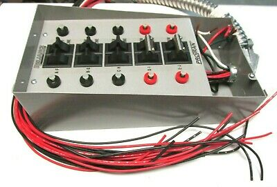 New Reliance Protran Transfer Switch 10 Circuit125250vac Cat 30310a .. Ux-304