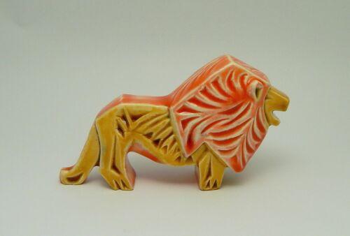 Gofer Israel Pottery Animal Lion Figurine
