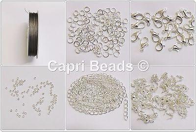 Bracelet & Necklace Jewellery Findings Starter Kit, Jewellery Making, Crafts