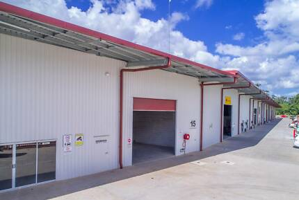 CENTRAL 506m2 INDUSTRIAL WAREHOUSE/SHED FOR RENT FOREST GLEN