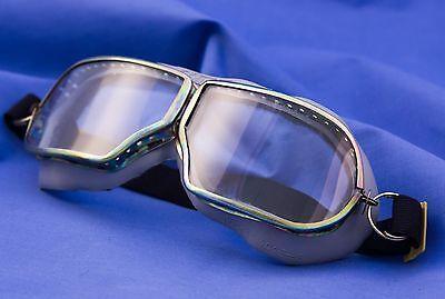 ORIGINAL OLD RARE VINTAGE SOVIET USSR AVIATOR PILOT GLASSES GOGGLES  in (Old Aviator Glasses)