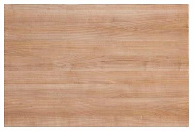 Schreibtischplatte Tischplatte Holz 120 x 80 cm Nussbaum-Holzoptik NEU + OVP