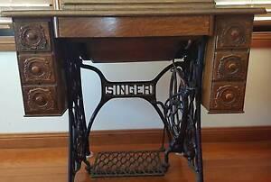 Vintage Singer Treadle Sewing Machine Mount Barker Mount Barker Area Preview