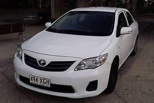 MY12  Toyota Corolla Sedan Benowa Gold Coast City Preview