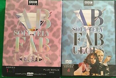 Absolutely Fabulous DVD series 1-4
