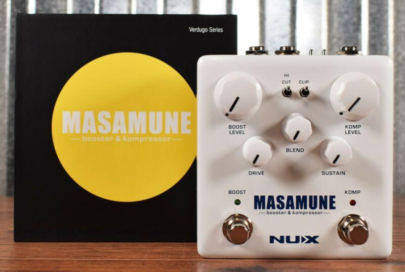 NUX NBK-5 Masamune Boost & Compressor Guitar Effect Pedal