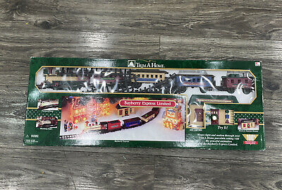 1997 Bayberry Express Limited Christmas Train Set RARE Trim A Home