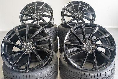 19 Zoll Borbet VTX Felgen 5x112 Schwarz glanz für Mercedes AMG GT Coupe 63 63S