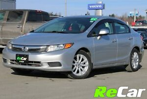 2012 Honda Civic EX SUNROOF | ONLY $42/WK TAX INC. $0 DOWN
