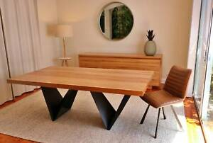 Solid Messmate Dining Table - Made in Melbourne