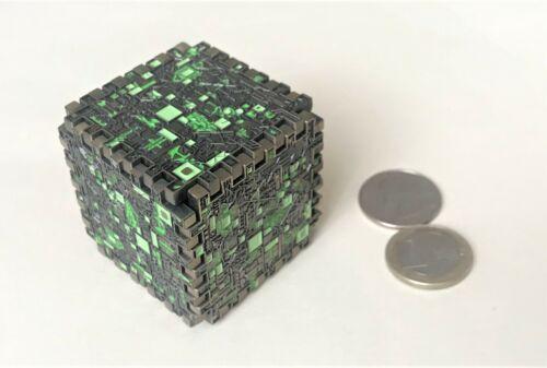 ☆☆ Full Borg Cube Geocoin (6 coins w/unique #s) Star Trek Puzzle U/T 3D