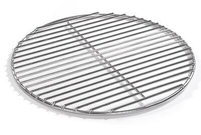 34,5cm Grill rund Edelstahl, für Weber Kugelgrill, 4mm Stäbe Grillrost V2A
