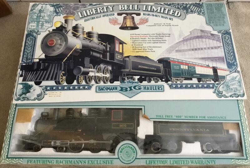 Bachmann Big Haulers Liberty Bell Limited G-Gauge Train Set In Original Box