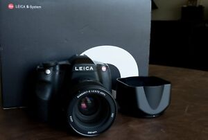 Leica S2 camera with SUMMARIT-S 70 mm 2.5 ASPH lens
