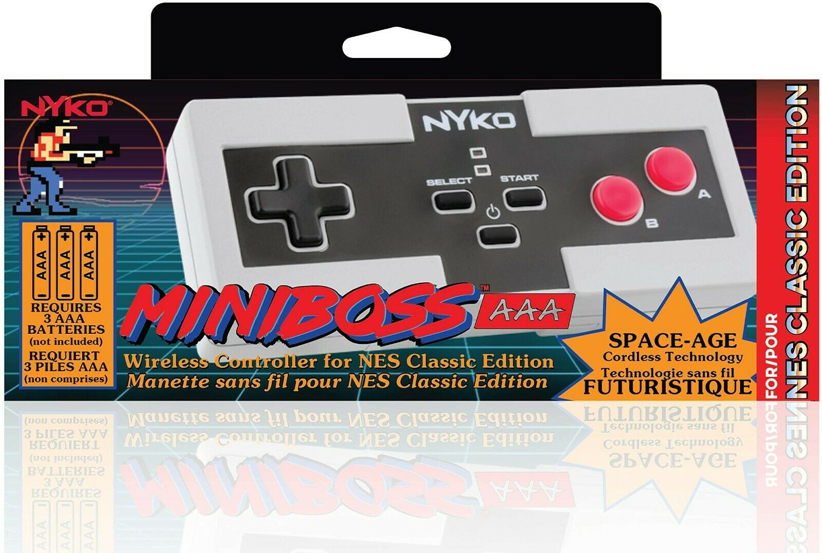 NYKO Miniboss  Wireless Controller for NEW CLASSIC EDITION NEW
