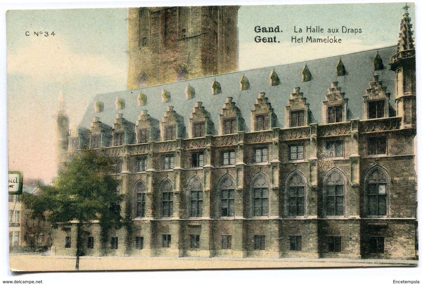 CPA -Carte postale-Belgique Gent - Gand - La Halle aux Draps - Het Mameloke