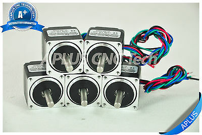 5 Pcs Nema 11 Micro Stepper Motor 6.36oz-in 28mm 0.6a 1.8degree 4wires