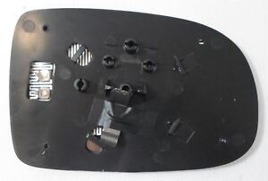 Vauxhall Corsa C 2000-2006 Wing Mirror Glass Heated N/S Passenger Side Left
