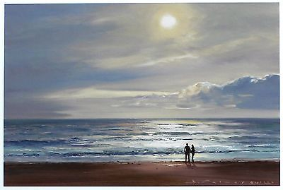 "DUNCAN PALMAR ""Sparkling Seas I"" beach sun SIGNED LTD! SIZE:29cm x 37cm NEW RARE"