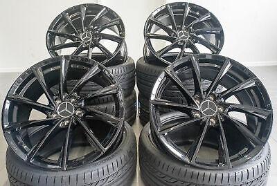19 Zoll Borbet VTX Felgen 5x112 schwarz glanz für Mercedes AMG GT 63 63S S Coupe