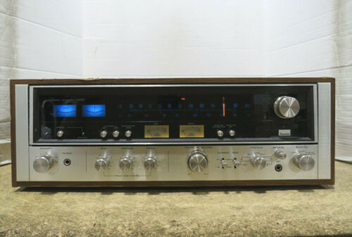Tested Vintage Sansui 8080 AM/FM Stereo Receiver Tuner Amplifier 80W per Channel