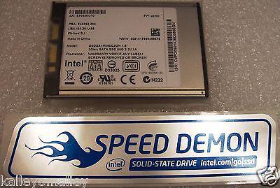 Intel SSDSA1MH080G2 GN SSD X18-M Series 80GB 1.8in microSATA 3Gb/s 34nm MLC New