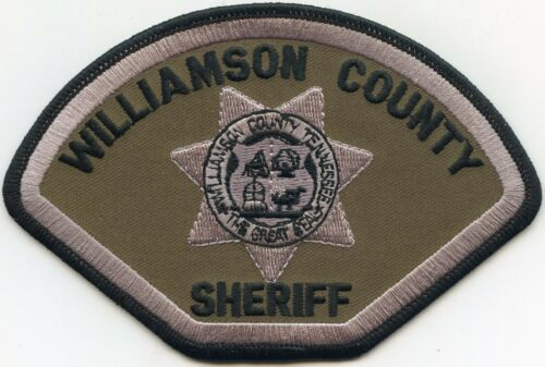 WILLIAMSON COUNTY TENNESSEE TN subdued SHERIFF POLICE PATCH
