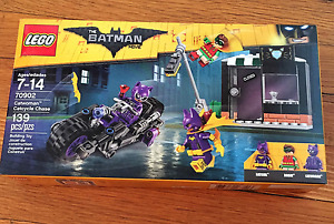 Lego Batman - Catwoman  Catcycle Chase 70902
