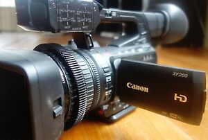 Canon XF200 HD Camcorder West Footscray Maribyrnong Area Preview