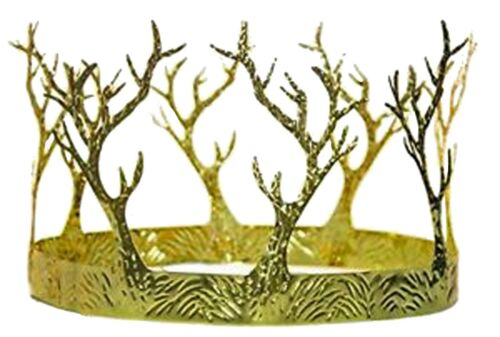 Medieval Gold Branch Crown