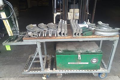 Greenlee 882cb Hydraulic Pipe Bender 1 14 2 Emt Rigid Conduit Wtable Shpfob