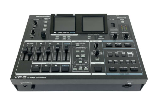 Roland VR-5 AV Mixer Recorder Switcher VR5