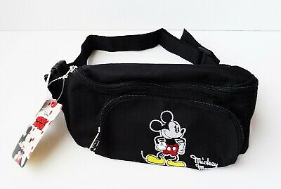 Disney - Mickey Mouse - Embroidered Classic Mickey Belly Bag - Fanny Pack - Mickey Mouse Mickey
