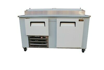 Cooltech 1-12 Door Refrigerated Pizza Prep Table S.s Top 60