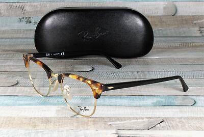 RAY BAN RX5154 5494 Clubmaster Brown Havana Demo Lens 49 mm Unisex (Ray-ban Rx5154 Clubmaster Eyeglasses)