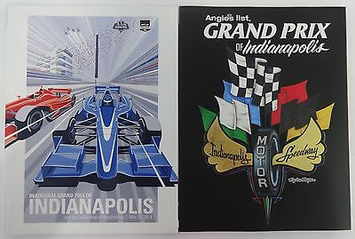 2014   2015 Angies List Grand Prix Of Indianapolis Event Collector Program Indy