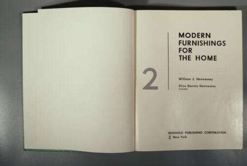 Hennessey Modern furnishings for the home vol. 2 1956 original Eames Sarfatti
