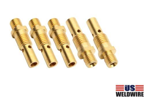 MIG Welding Gun Gas Diffuser 35-50 for Tweco Mini/#1 Lincoln 100L 5-PK 2-PK