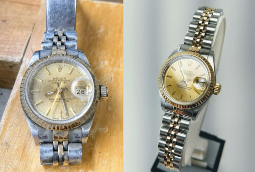 Watch Refinishing, Polishing, Cleaning SERVICE ONLY.    WATCH REPAIR SERVICE