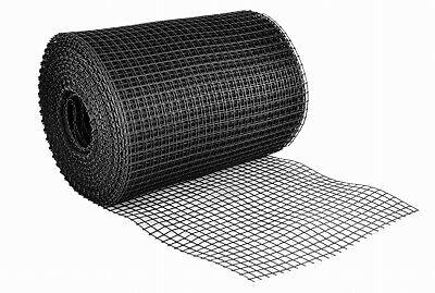 1.2 x 50m Plastic Fence Mesh Garden Landscape Climbing Netting Fence - black