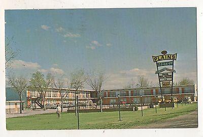 The Plains Motel Wall Sd South Dakota Vintage 1972 Roadside Postcard