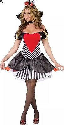 Fantasy By Fun World Queen Of Hearts Adult S / M (Queen Of Hearts Adult Costume)