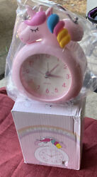 Unicorn Alarm Clock for Kids Wake Up Night with Loud Music Alarm, Ideal Gifts fo