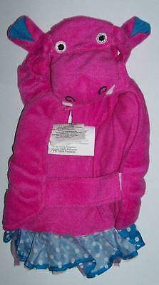 Plush Pink Hippo Costume for Pets Dog Cat  Size Extra Small - Dog Hippo Costume