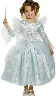 Fairy Godmother Disney Cinderella Dress Up Halloween  girls Costume size  M 7-8](Fairy Godmother Halloween)