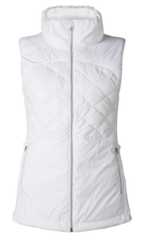 Lululemon Down For A Run Vest White Size 4 NWT $138