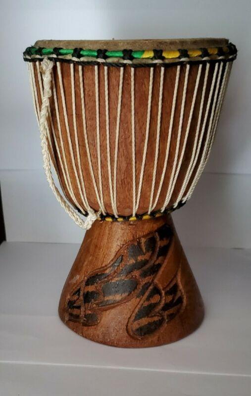 Wooden Bongo Drum